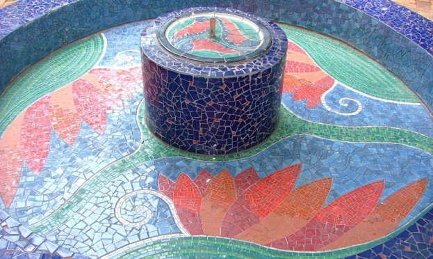 Water Feature mosaic