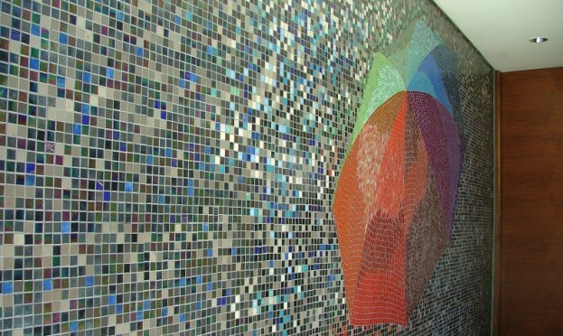Feature mosaic walls
